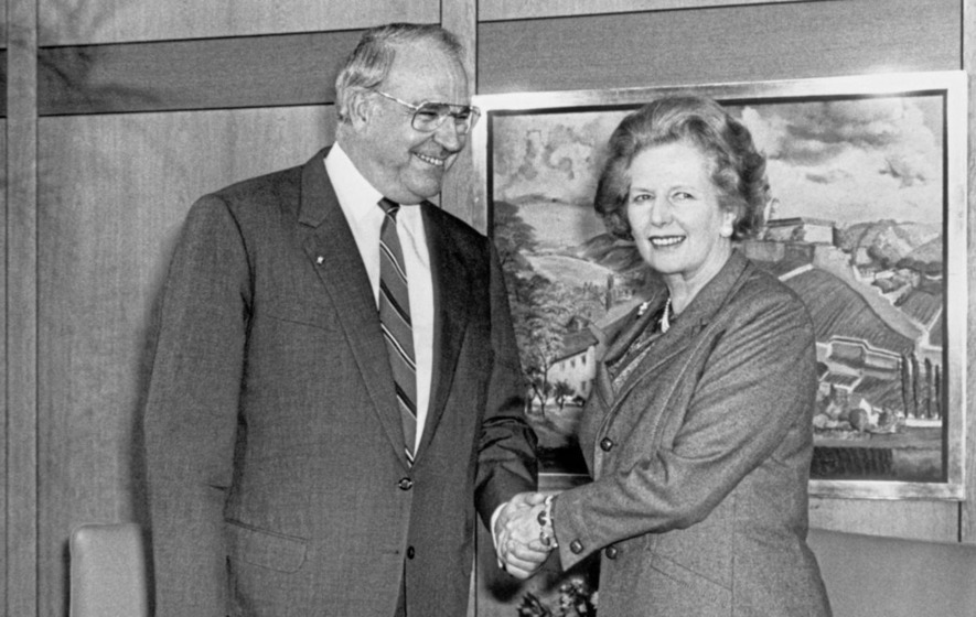 State papers: Margaret Thatcher had deep misgivings over German reunification