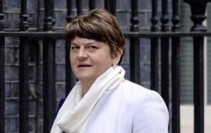 Arlene Foster's safe for now but that would all change in event of an election