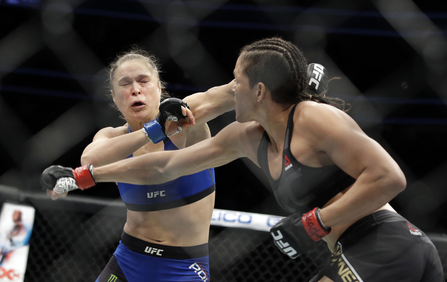 Ronda Rousey to 'take time to reflect' after brutal loss to Amanda Nunes at UFC 207