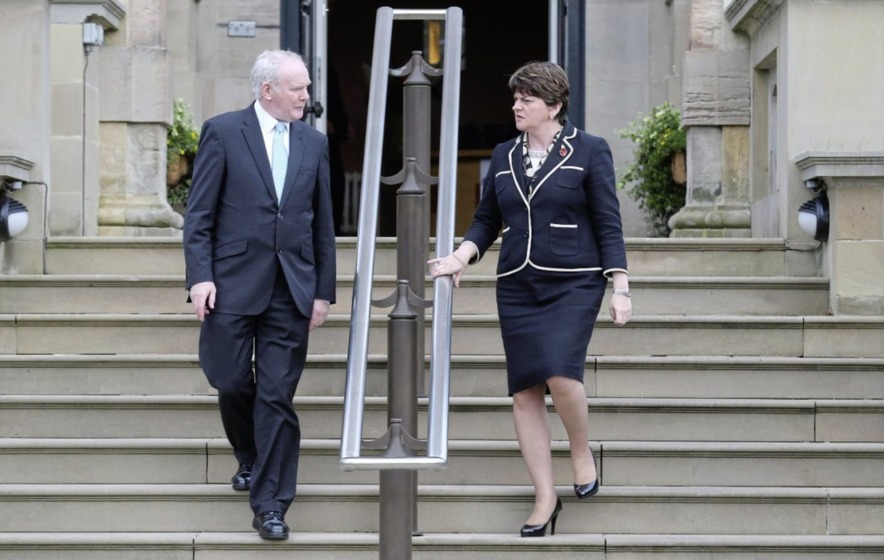 Martin McGuinness tells of 'overwhelming desire' for Arlene Foster to step aside
