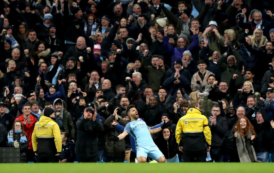 Man City climbs to 3rd in EPL with win over Burnley