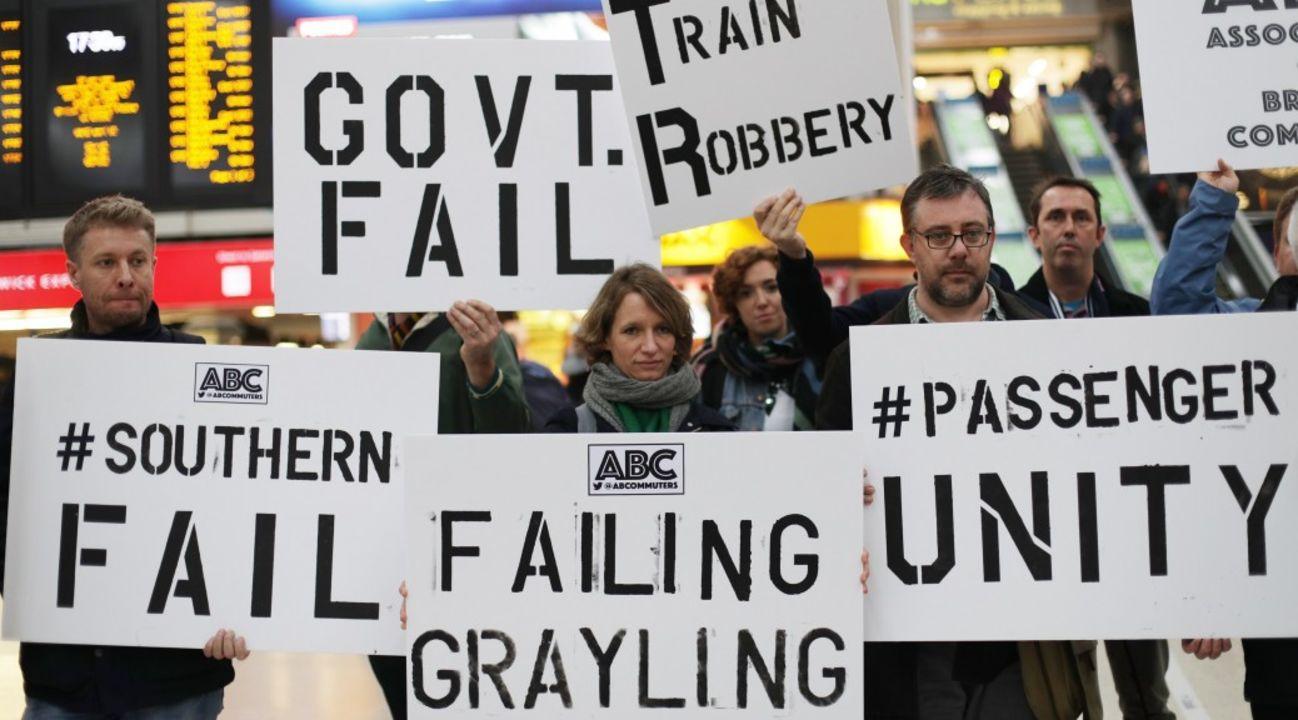 Commuters vent under #railfail after train fares rise again