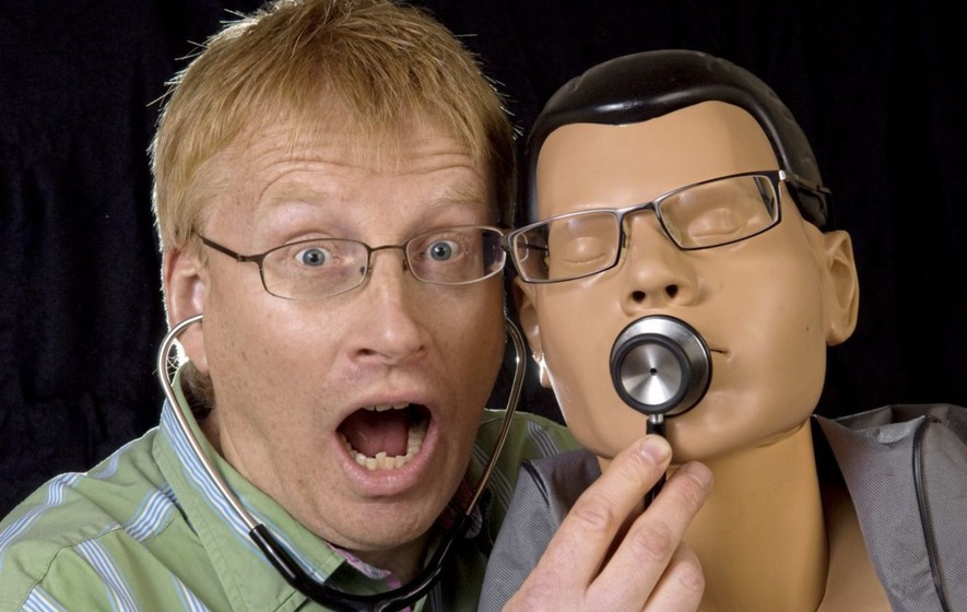 Laughter is the best medicine with Dr Phil Hammond