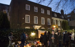George Michael fans have nearly reached a petition target for a statue to be erected outside his home