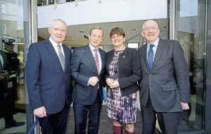 Stormont's joint leaders last appeared together five weeks ago