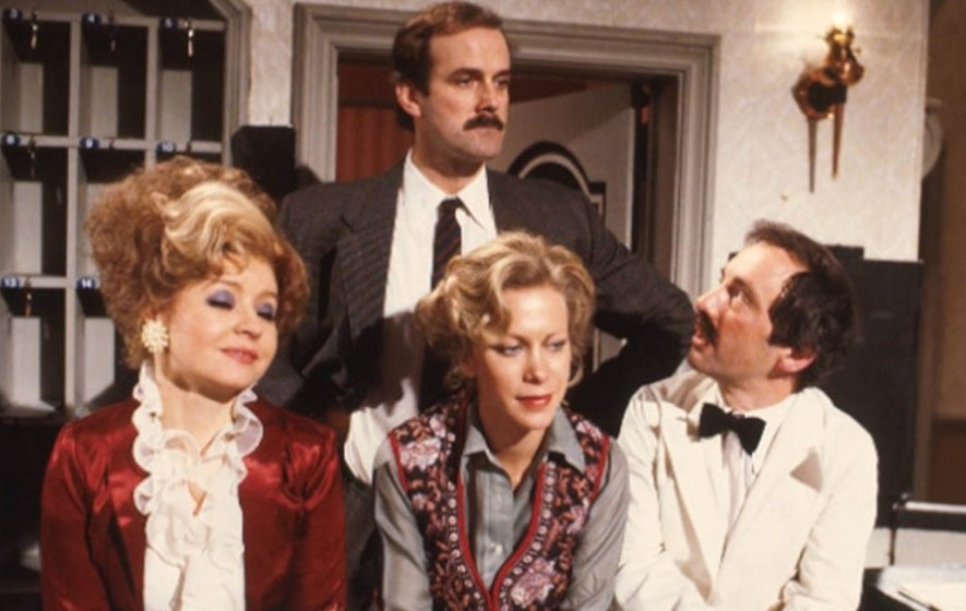 Fawlty Towers voted British comedians' favourite sitcom