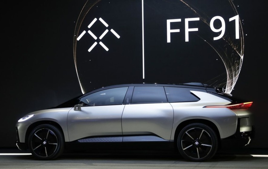 Faraday Future Unveils New Super Fast Electric Car That Can Reach U002760mph In  2.39 Secondsu0027