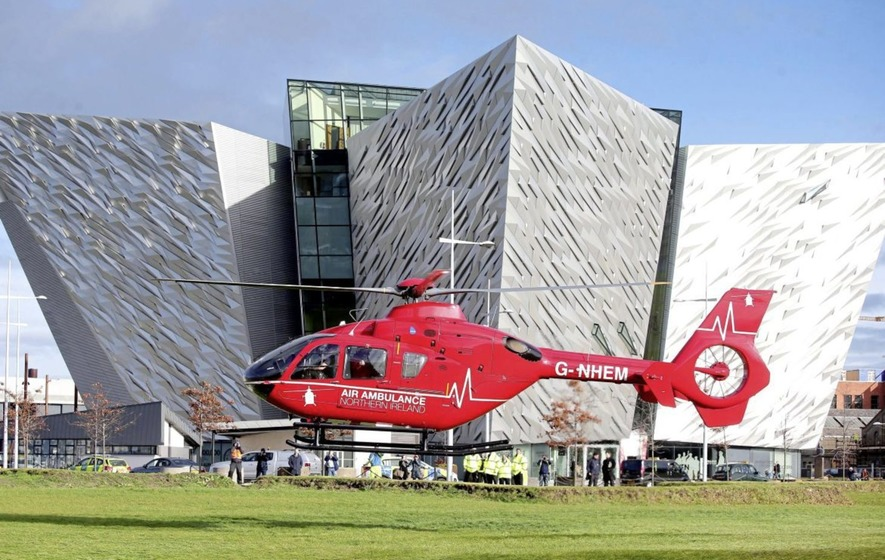 2m cost of air ambulance to be split between charity partner and ...