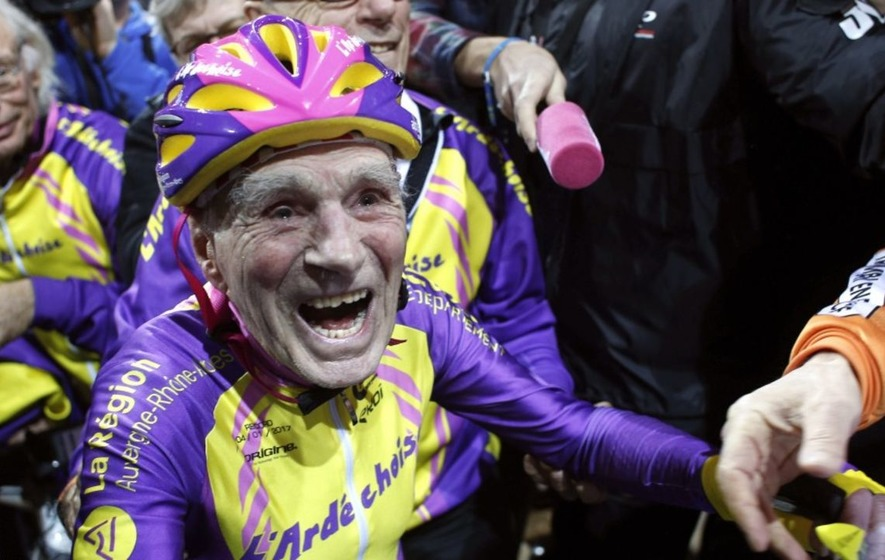 Video: This 105-year-old man smashing a cycling record is all the inspiration you'll need today