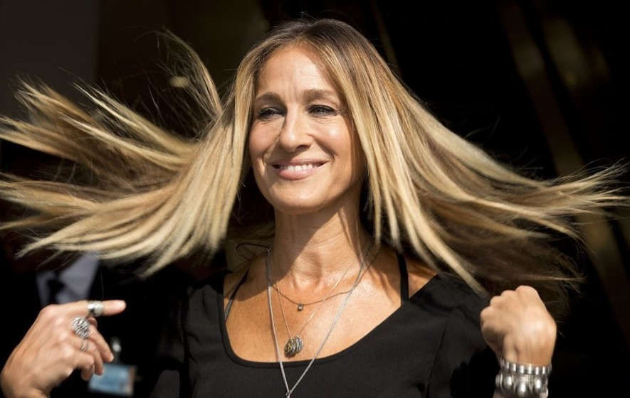 See how Sarah Jessica Parker survived getting stuck in a lift