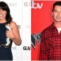 Why did Davina McCall get all of a fluster when talking about Bush with Gavin Rossdale?