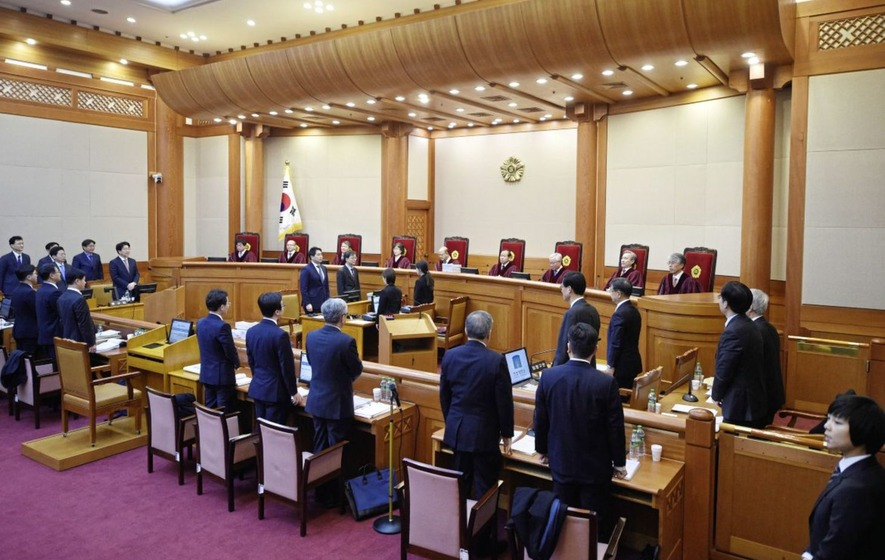 South Korean president's impeachment trial gets under way