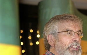 Adams warns of 'defining point' in Stormont relations