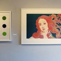 VIDEO: Andy Warhol artwork pops up for sale in Belfast