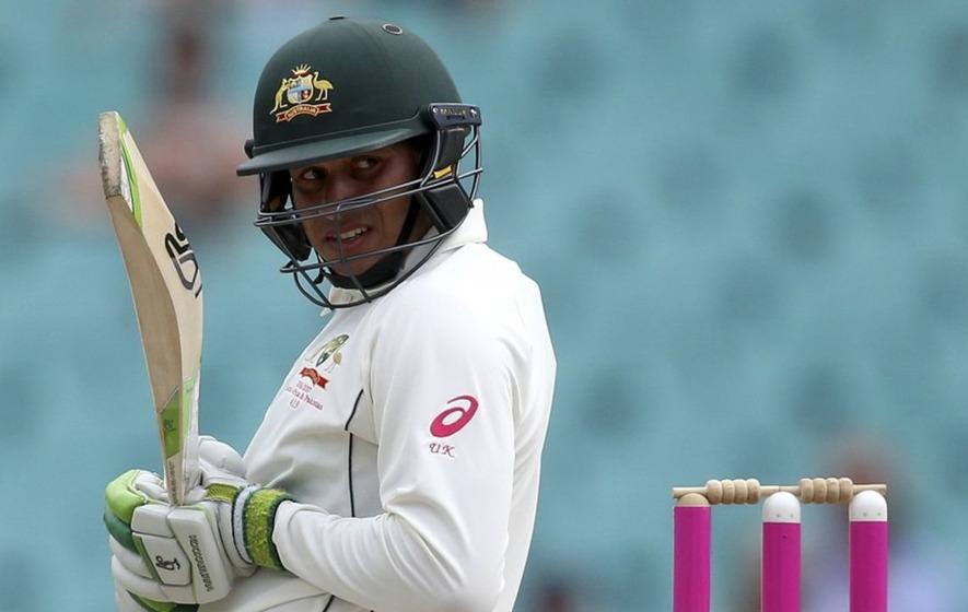 Usman Khawaja horrifies cricket fans with half-century dab celebration