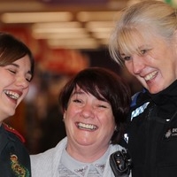 Watch: The heartwarming moment mum who collapsed in Sainsbury's meets the people who saved her life