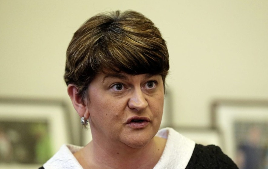 Arlene Foster changes tone but still insists she is staying put at Stormont