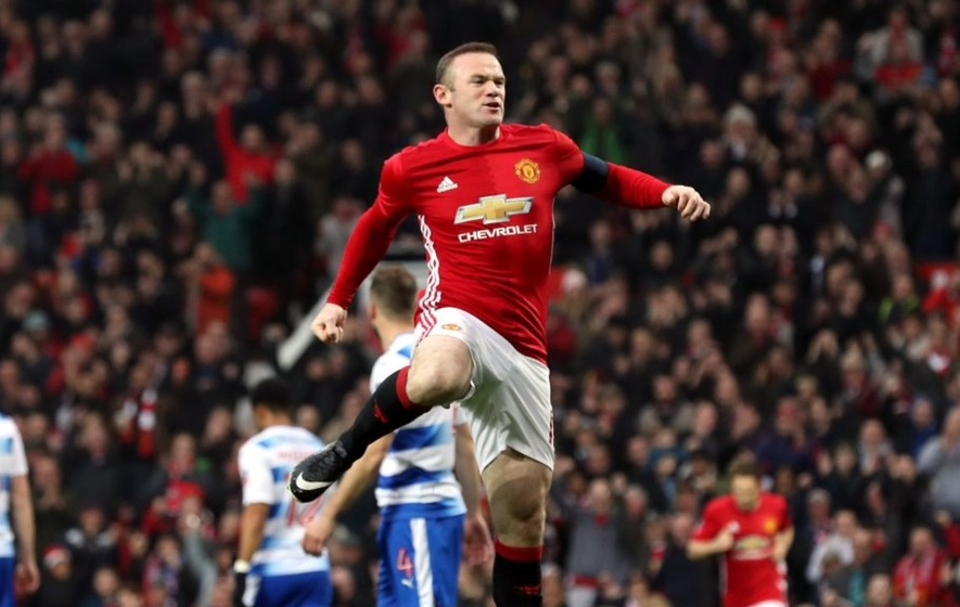 As Wayne Rooney becomes Man United's joint record scorer, check out his career in numbers