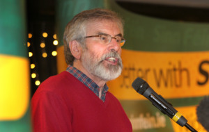 Gerry Adams: DUP guilty of 'deliberate provocation, arrogance and disrespect'