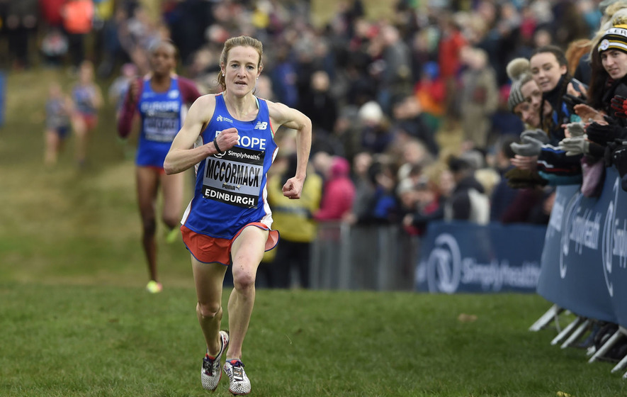Fionnuala McCormack grabs runner-up spot at Great Edinburgh Cross Country