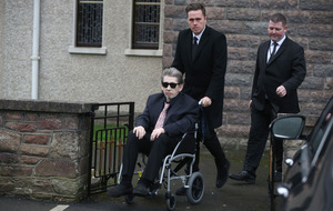 Shane MacGowan attends funeral of mother killed in car crash