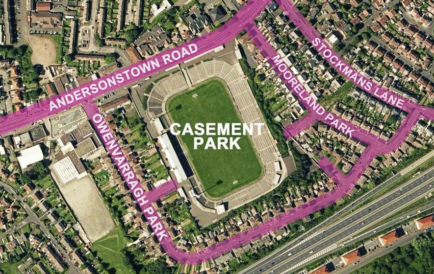 GAA submits new Casement Park planning application