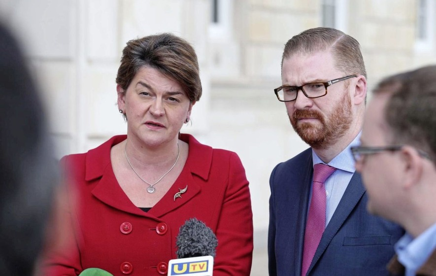 First Minister Arlene Foster says Sinn Féin wrong to play 'game of chicken'