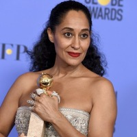 Tracee Ellis Ross dedicates Golden Globe prize to 'women of colour'