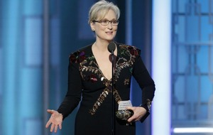Meryl Streep gives rousing political speech about Donald Trump at the Golden Globes