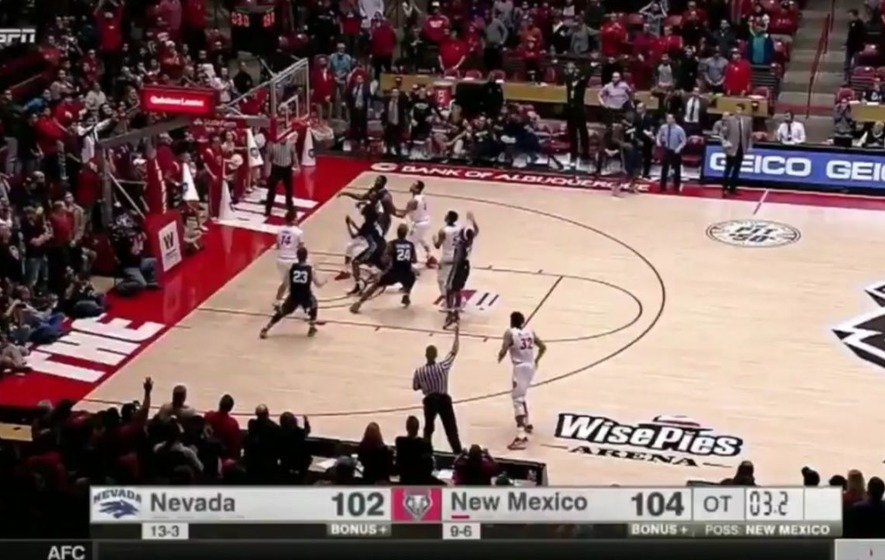 Nevada Wolf Pack's three-point deluge produced one of the great college basketball comebacks
