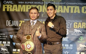 Carl Frampton v Leo Santa Cruz mark two will be even better claims Sam Watson