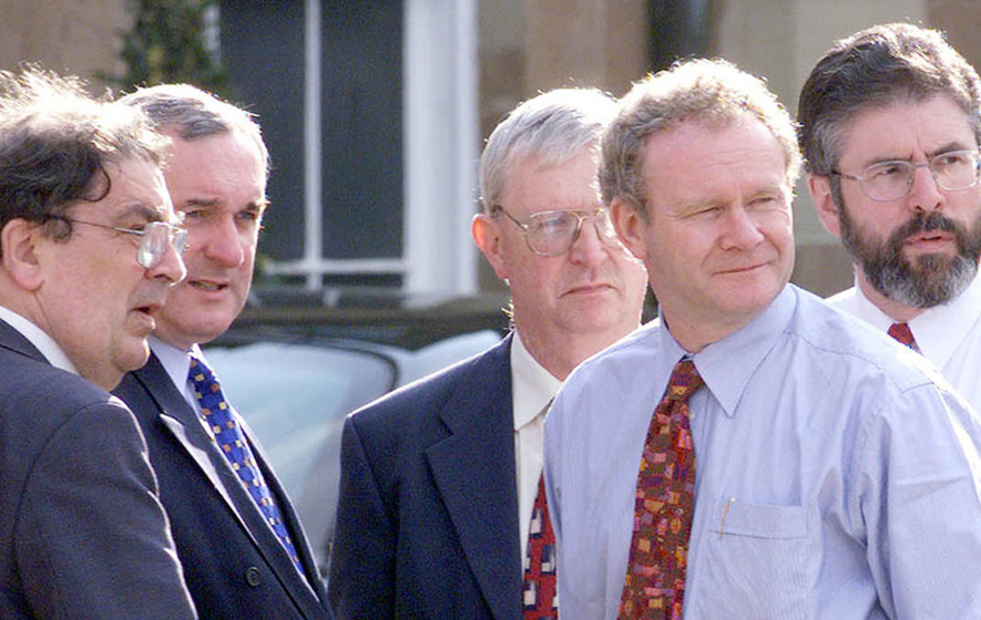 Son of Enniskillen bombing victim 'will always remember McGuinness as a terrorist'