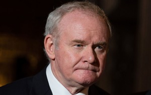 Why is Northern Ireland's Deputy First Minister Martin McGuinness stepping down?