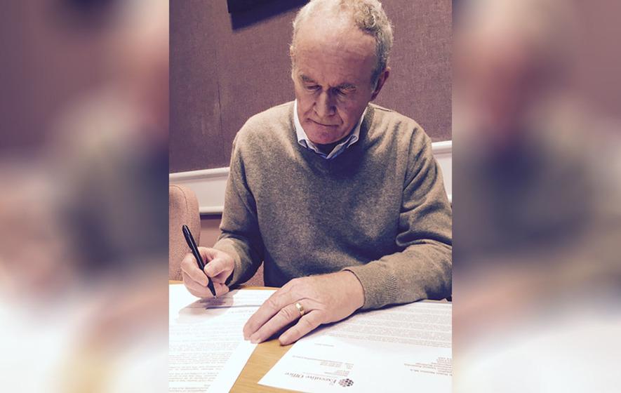 RHI Scandal: Martin McGuinness' letter of resignation in full