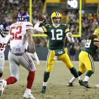 Aaron Rodgers' quarterback masterclass for the Green Bay Packers had Twitter marvelling at his genius