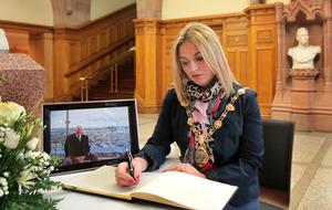 Ex-Derry mayor Elisha McCallion may replace Martin McGuinness as Foyle MLA