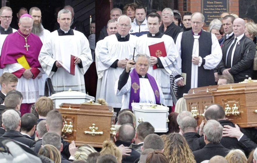 Buncrana pier tragedy priest Fr Paddy O'Kane to take sabbatical in US