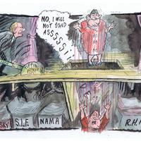 Video: Cartoonist Ian Knox on drawing Martin McGuinness
