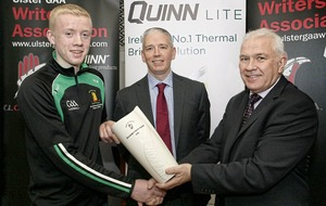 Lorcan McBride honoured by UGAAWA after making record breaking look easy