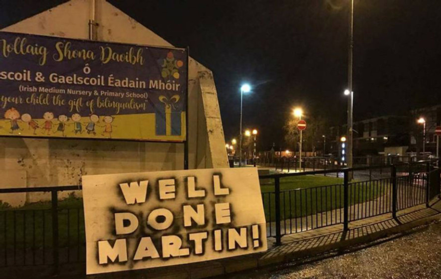 Video: Martin McGuinness tweets thanks for messages of support