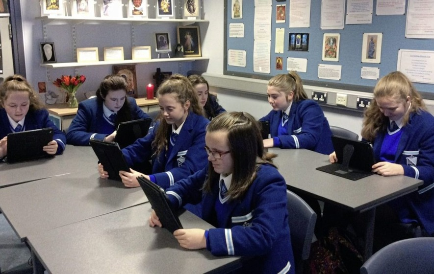New `ibook' helps pupils learn about salvation history