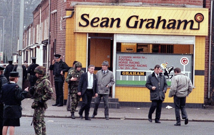 Brother of victim from Sean Graham's bookmakers shooting dies aged 43