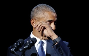 President Obama makes emotional farewell speech
