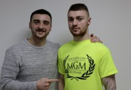 Video: Belfast banger Lewis Crocker can go 'all the way to the very top' claims new trainer Ray Ginley