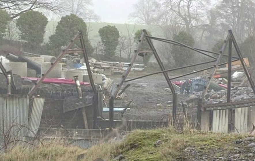 Fire at Fermanagh shed which destroyed eight boilers was accidental