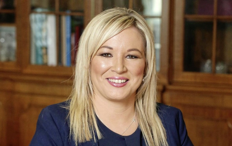 Michelle O'Neill replaces Martin McGuinness as Sinn Féin leader in the north