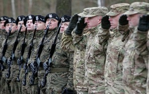 US soldiers in Poland threat to security warns Russia