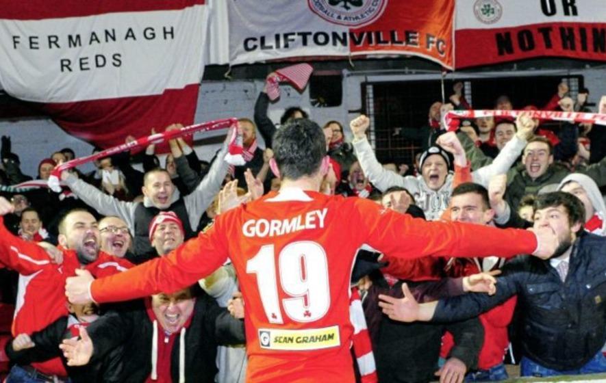 Brendan Crossan: Joe 'the Goal' Gormley is back at his spiritual Solitude home