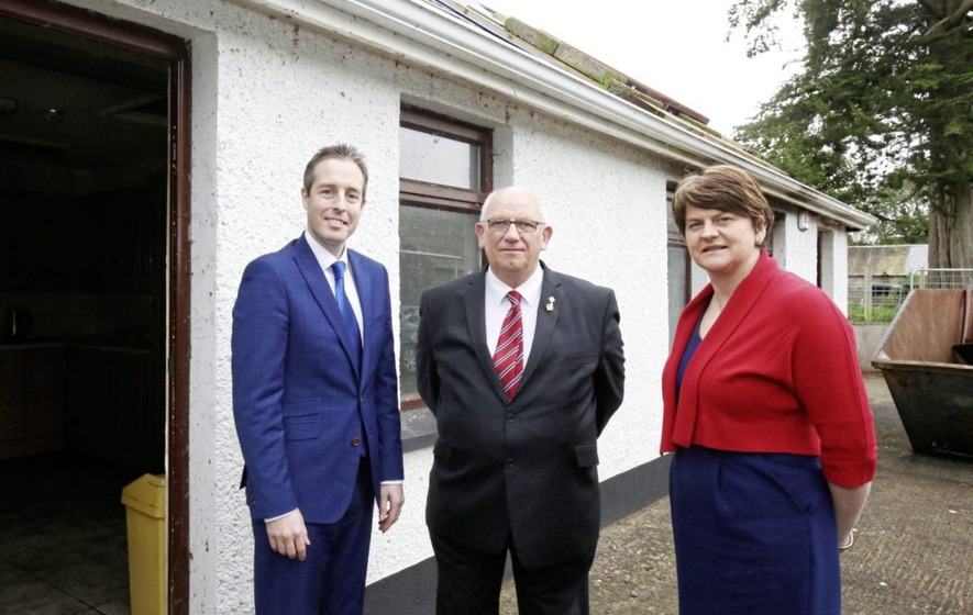 Cost of 'community hall' fund launched by Paul Givan quadruples