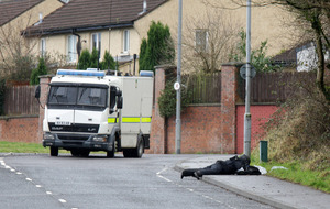 Roadside bomb in west Belfast was meant to kill police, senior officer says